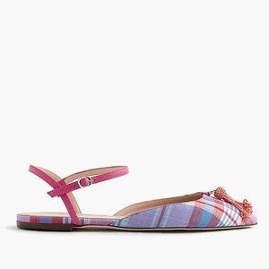 J crew tassel sandals